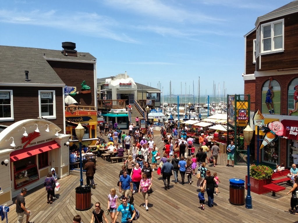Fisherman S Wharf And Pier 39