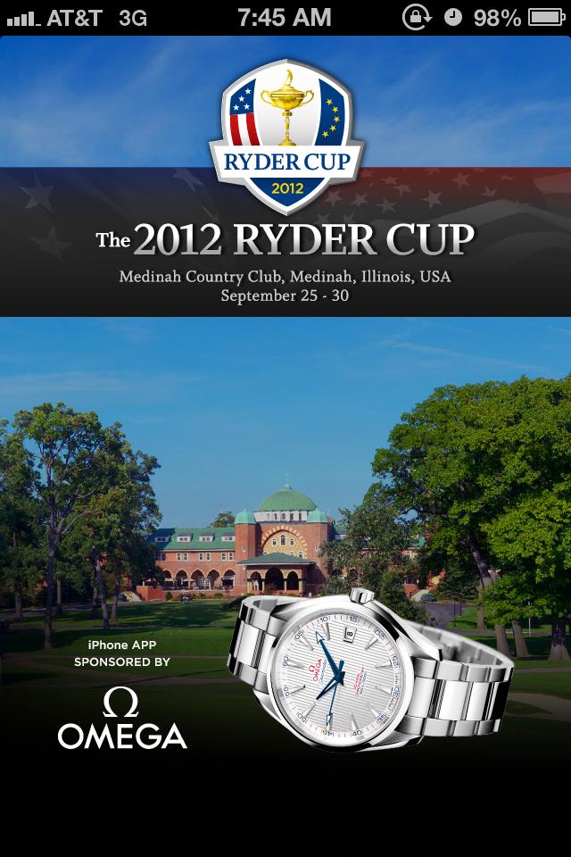 2012 Ryder Cup