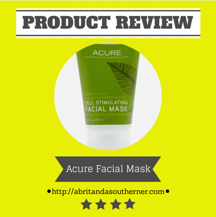 Acure Cell Stimulating Face Mask