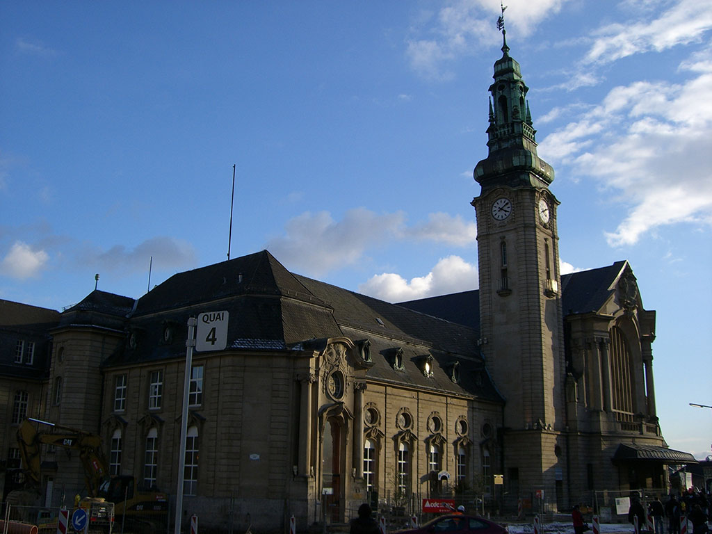 Luxembourg City Railway Station