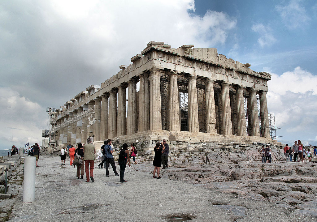 Image courtesy of  Francisco Anzola (Parthenon) [CC-BY-2.0 (http://creativecommons.org/licenses/by/2.0)], via Wikimedia Commons