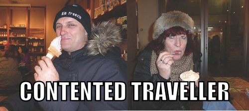 Contented Traveller - Paula and Gordon