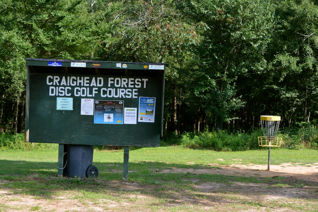 Craighead Forest Park Disc Golf