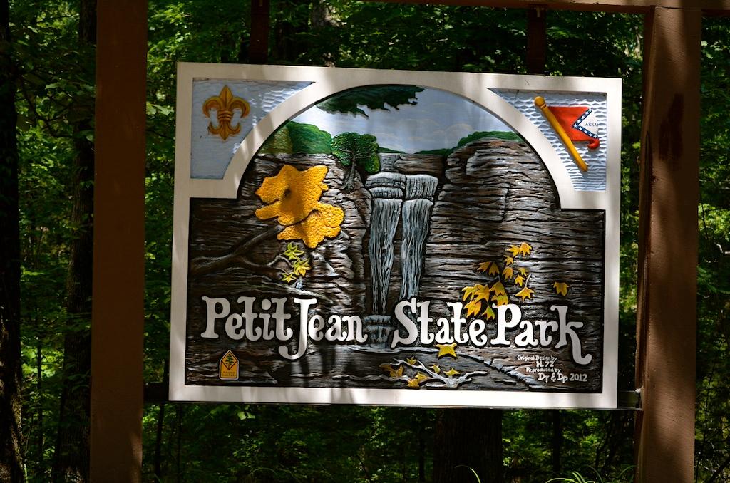 Petit Jean State Park Sign