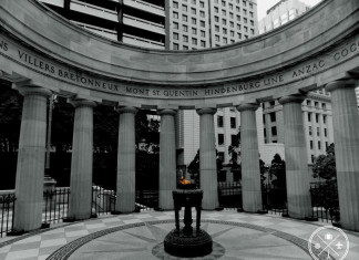 Shrine of Remembrance Anzac Square Brisbane