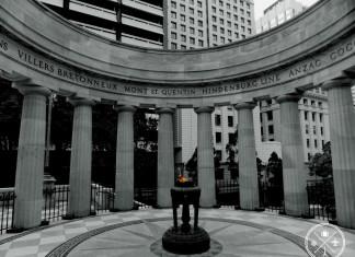 Shrine of Remembrance Anzac Square Brisbane