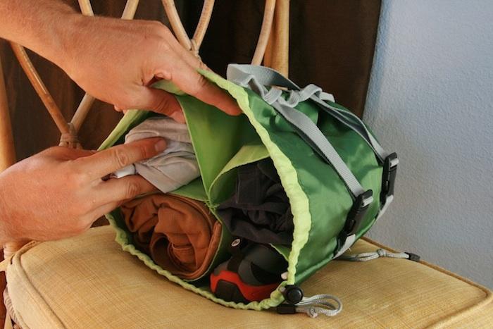 Hoboroll Gobi Gear Packing
