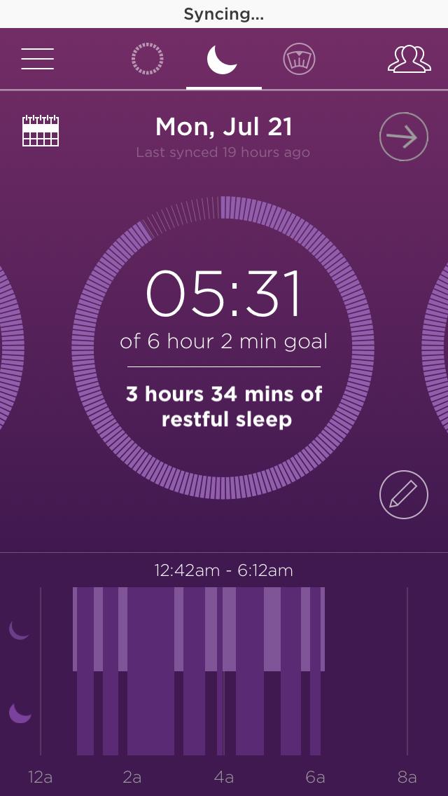 Misfit App-Sleep