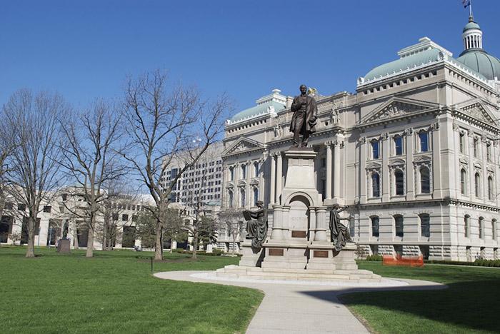 Indiana War Memorial Plaza