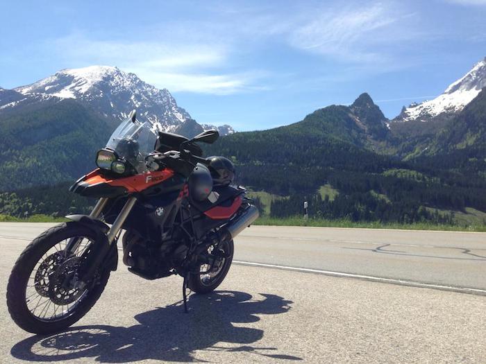 Brenden Palmer Worldly View Austrian Alps
