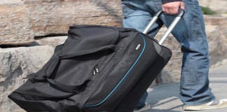 rise gear roller bag
