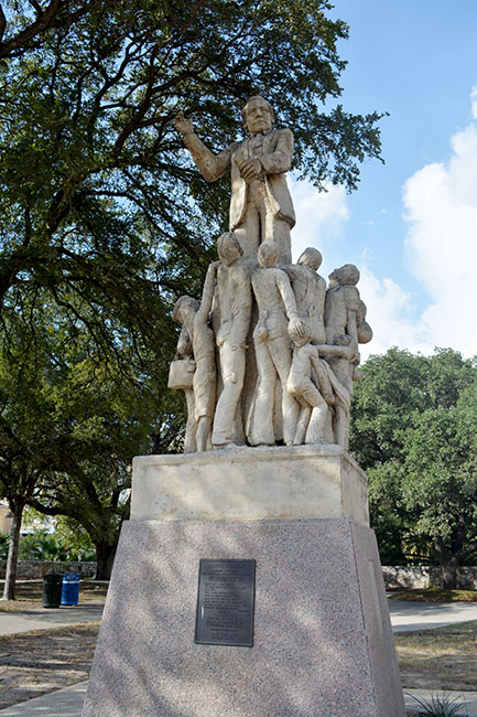 20th Century Labor Statue San Antonio