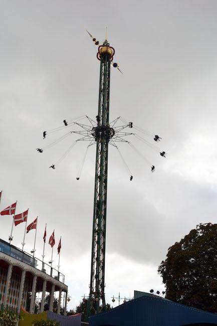 Tivoli Gardens Theme Park Rides