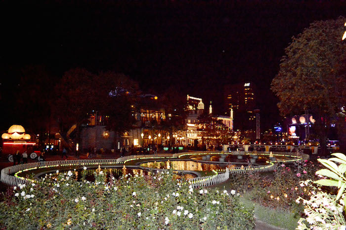 Tivoli Gardens Evening Illuminations