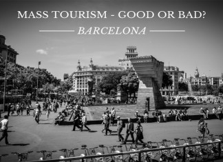 Barcelona Mass Tourism