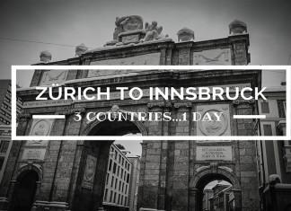 Zurich to Innsbruck