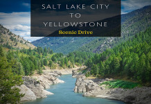Drive from Salt Lake City to Yellowstone