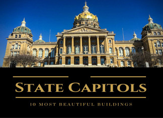 Most Beautiful State Capitol Buildings