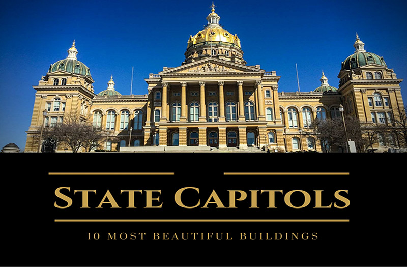 Most Beautiful State Capitol Buildings In America