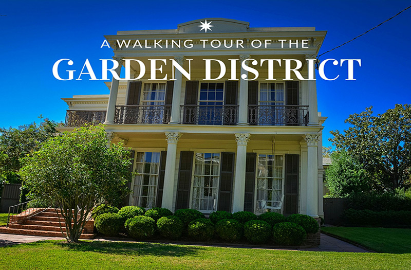10 cool attractions on the new orleans garden district tour - Hotels near garden district new orleans ...