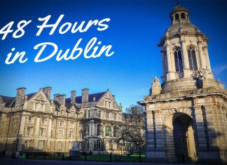48 hours in Dublin