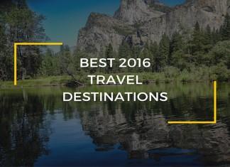 2016 travel destinations