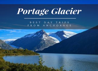 day trips from anchorage to portage glacier