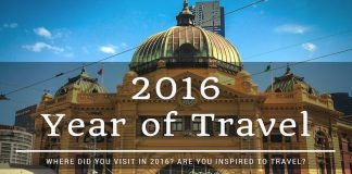 2016 year of travel