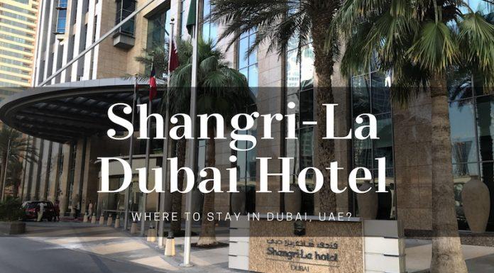 Shangri La Hotel in Dubai