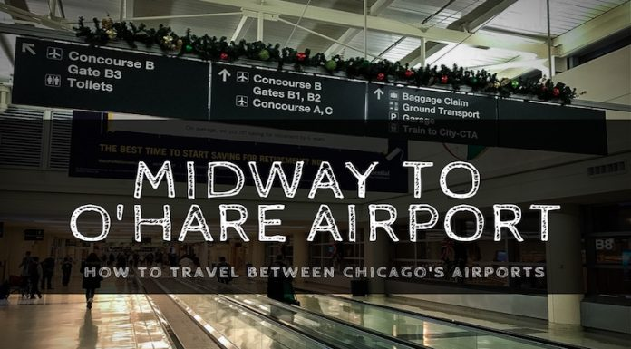 how to get from midway to o'hare