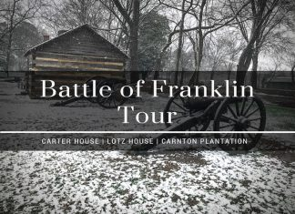 battle of franklin tour