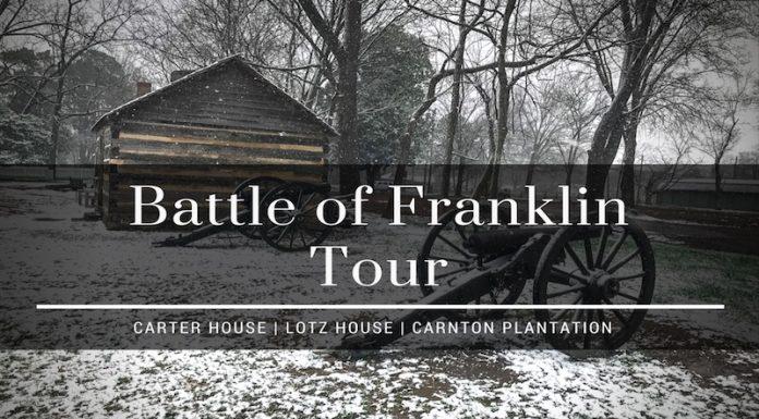 battle of franklin tour