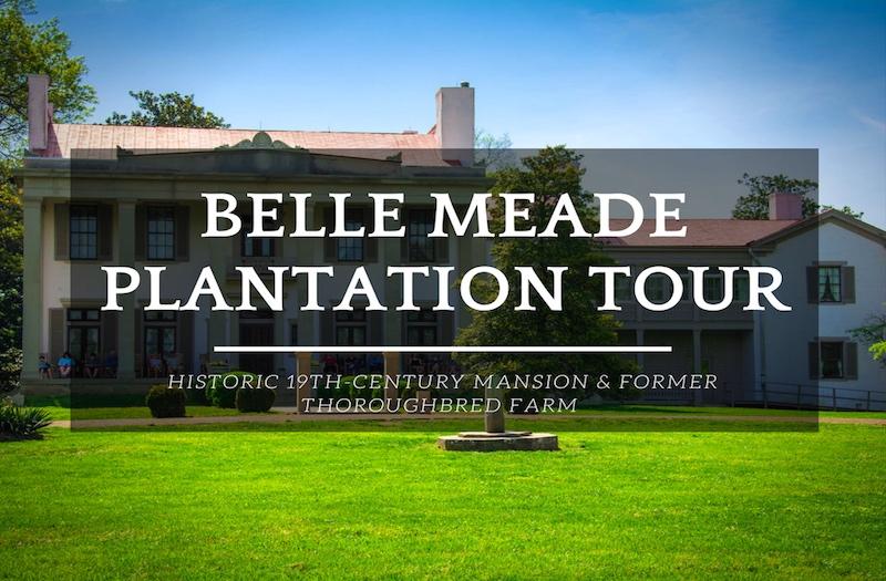 Essay on the belle meade plantation