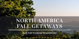 best fall weekend getaways