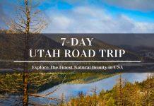 7 day utah road trip