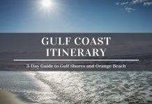 3 days in gulf shores and orange beach