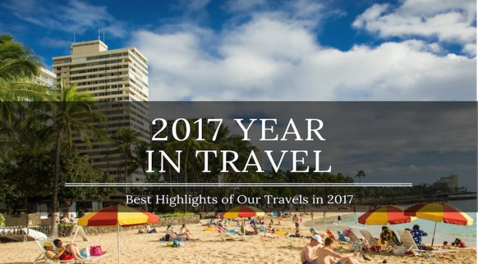 2017 year in travel