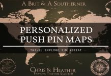 push pin maps