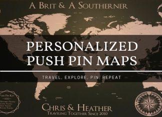 push pin maps