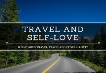 travel teach about self-love