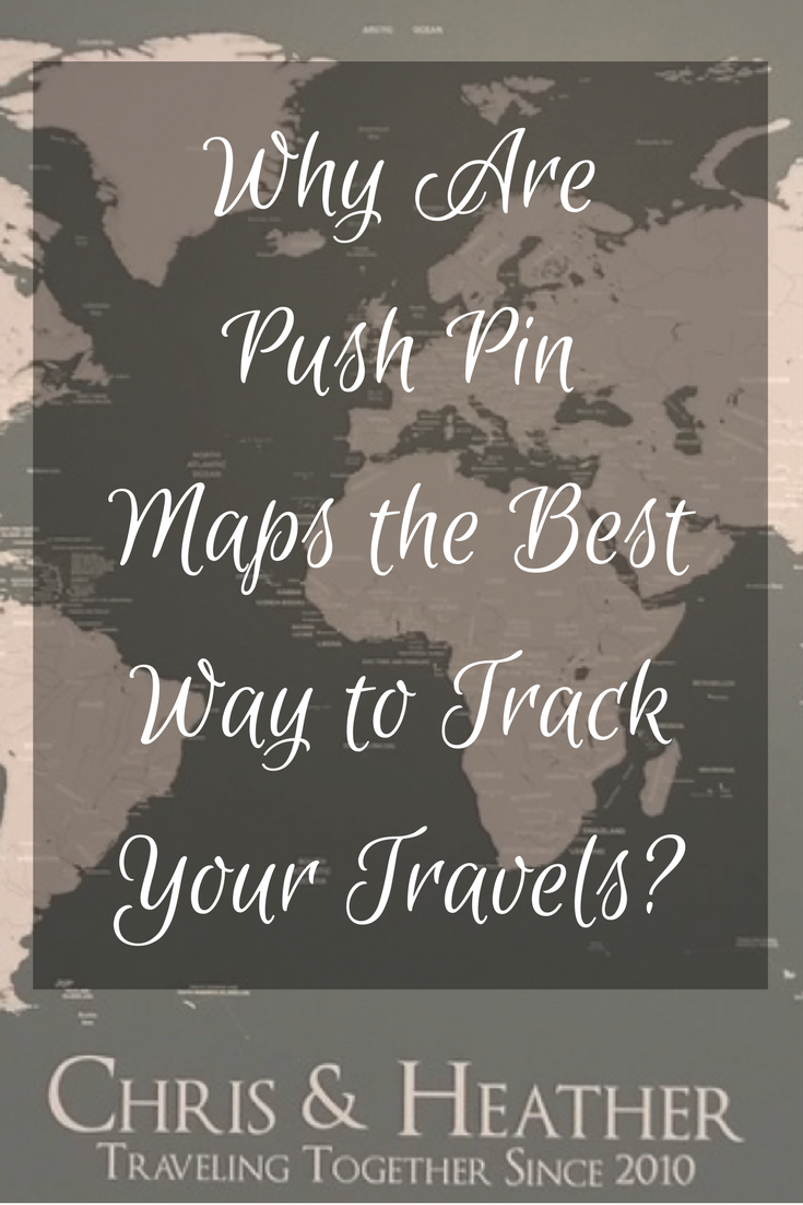 Are you an avid traveler looking for a great way to track all of your travels? Perhaps you are looking for something that will help plan your future bucket list destinations? We have the perfect solution to solve both of these questions - Push Pin Maps! #PushPinMap #Giveaway