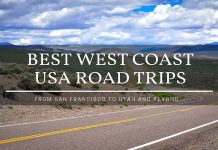 best west coast usa road trips