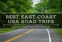 best east coast usa road trips