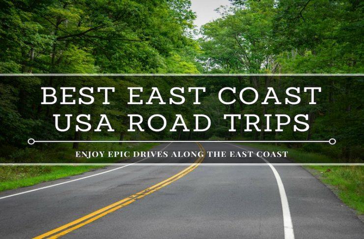 best east coast usa road trips