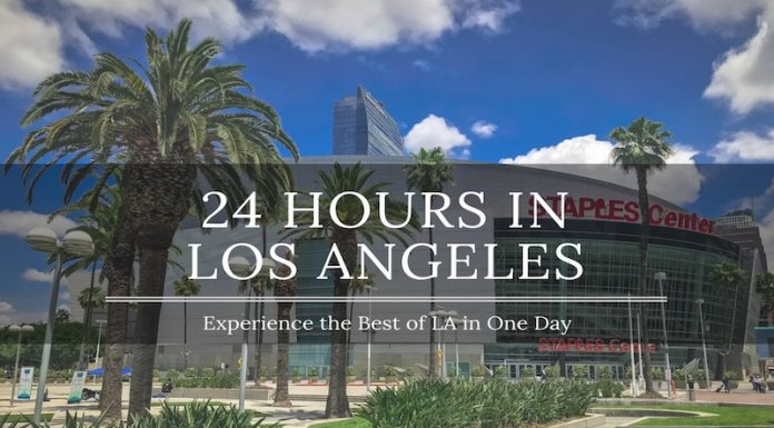 one day in los angeles
