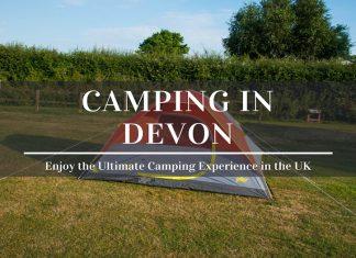 camping in devon