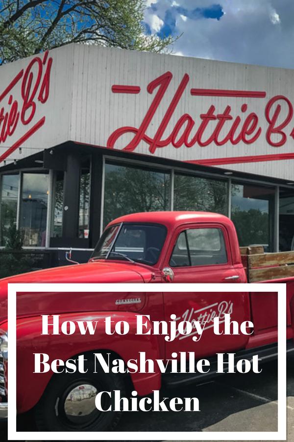 Ready to sample Hattie Bs Nashville Hot Chicken? That's right, head on over to Music City to enjoy the finest hot chicken in Tennessee. #nashville #visitmusiccity #hotchicken #hattiebs