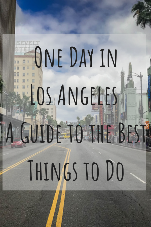 Spending only one day in Los Angeles may sound like a crazy idea, particularly with the stereotype of this city having such awful traffic problems but of course, we always love a good challenge! #California #LA #LosAngeles #VeniceBeach #SantaMonica