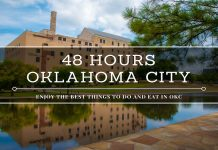 48 hours in Oklahoma City