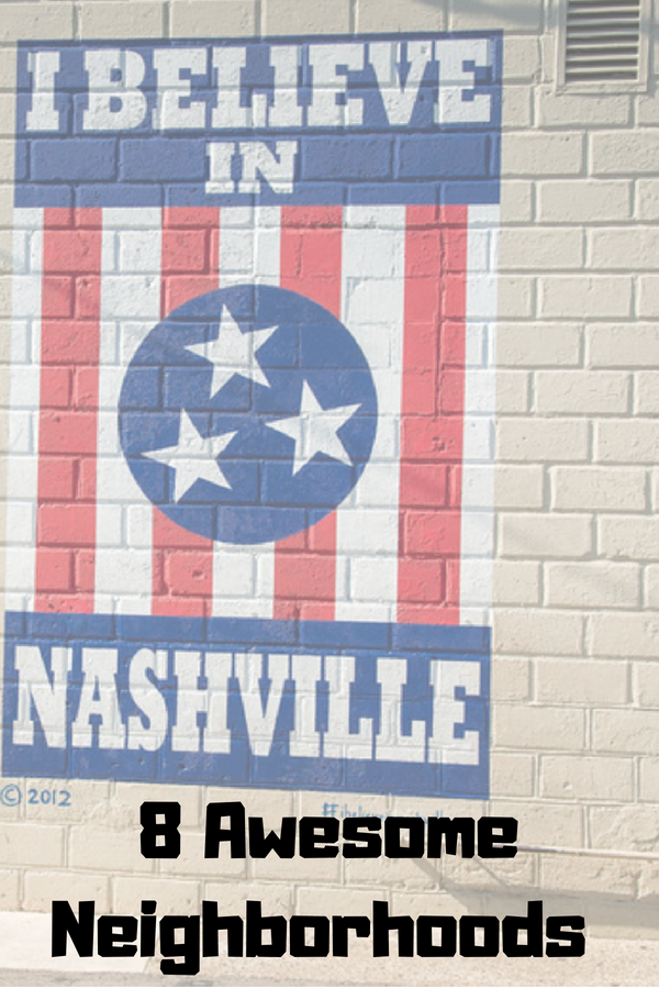 we decided to head away from the mainstream attractions, and explore some of the best neighborhoods in Nashville that normally don't hit the major tourist spot headlines. #Nashville #Neighborhoods #VisitMusicCity